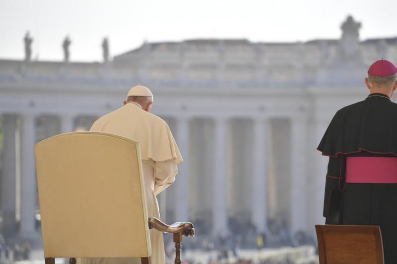 Audience générale du 17 avril 2019 © Vatican Media