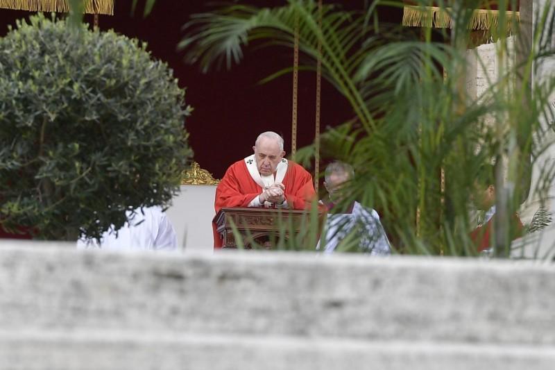 Messe des Rameaux, 14 avril 2019 © Vatican Media