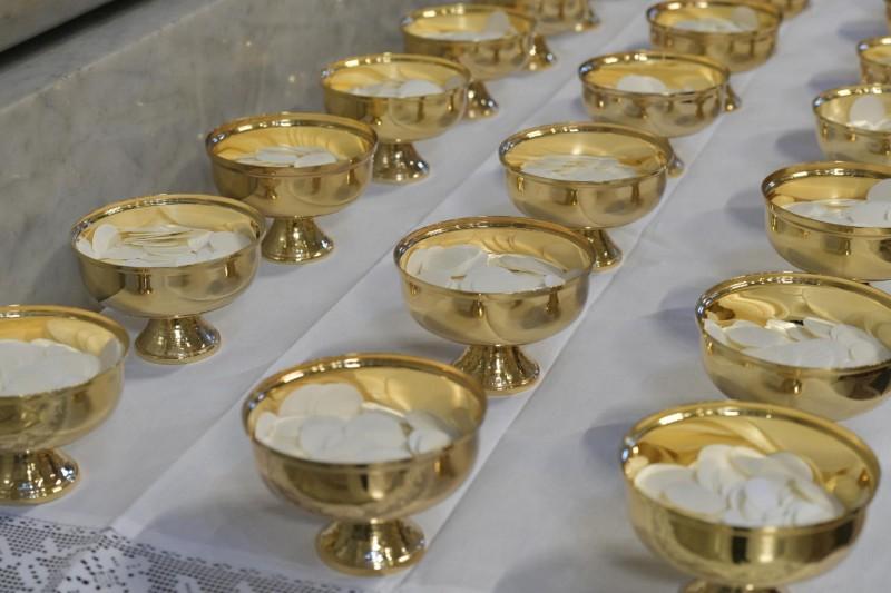 Messe chrismale à St Pierre, 18 avril 2019 © Vatican Media