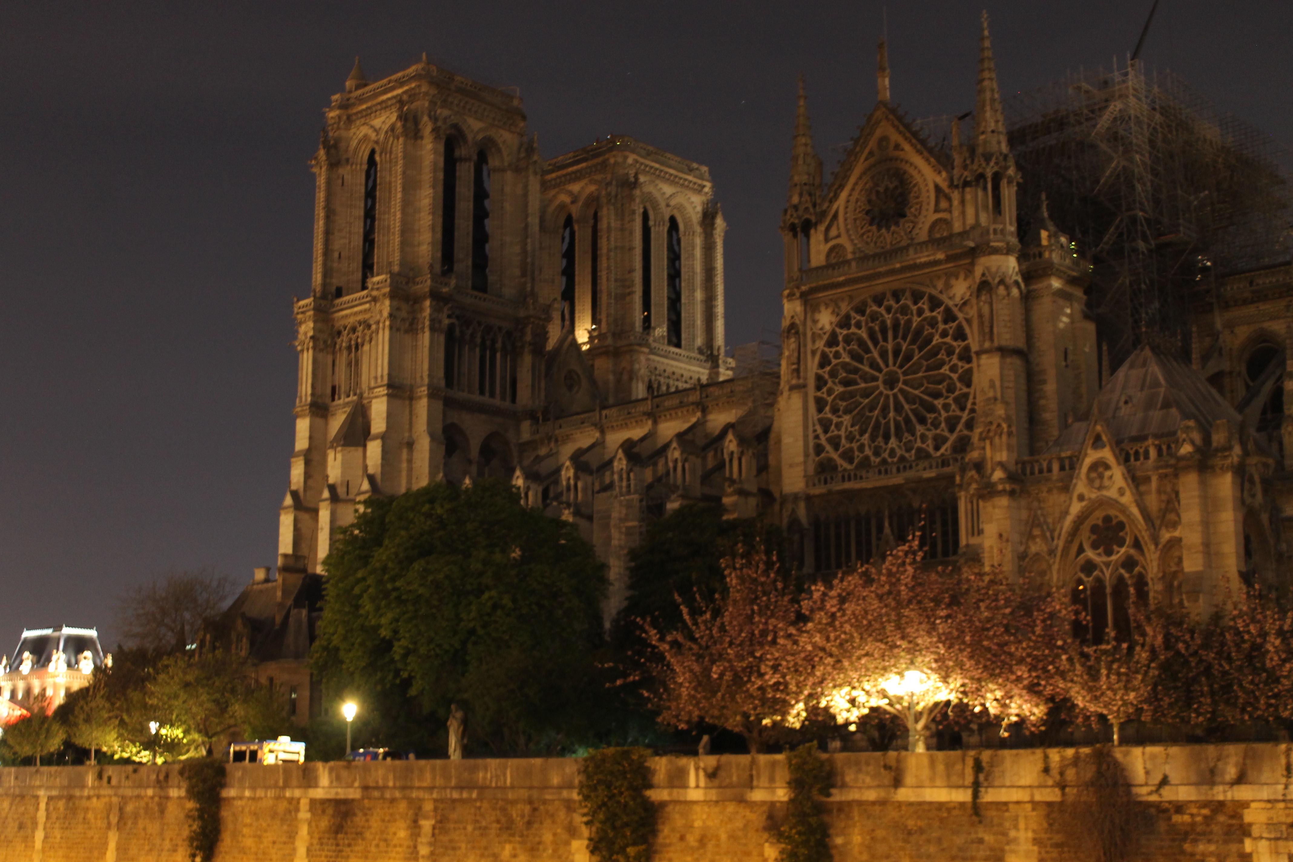 Notre-Dame de Paris, 17 avril 2019 © Anita Sanchez
