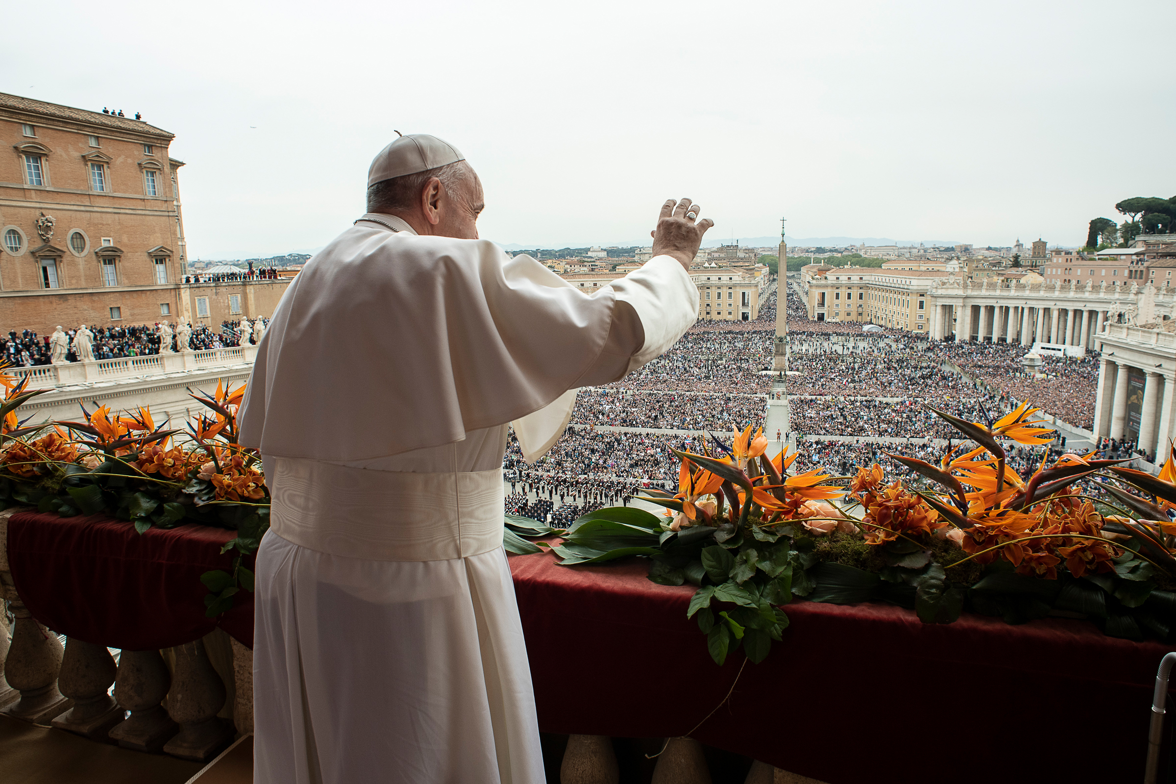 Urbi et Orbi, Pâques 2019 © Vatican Media