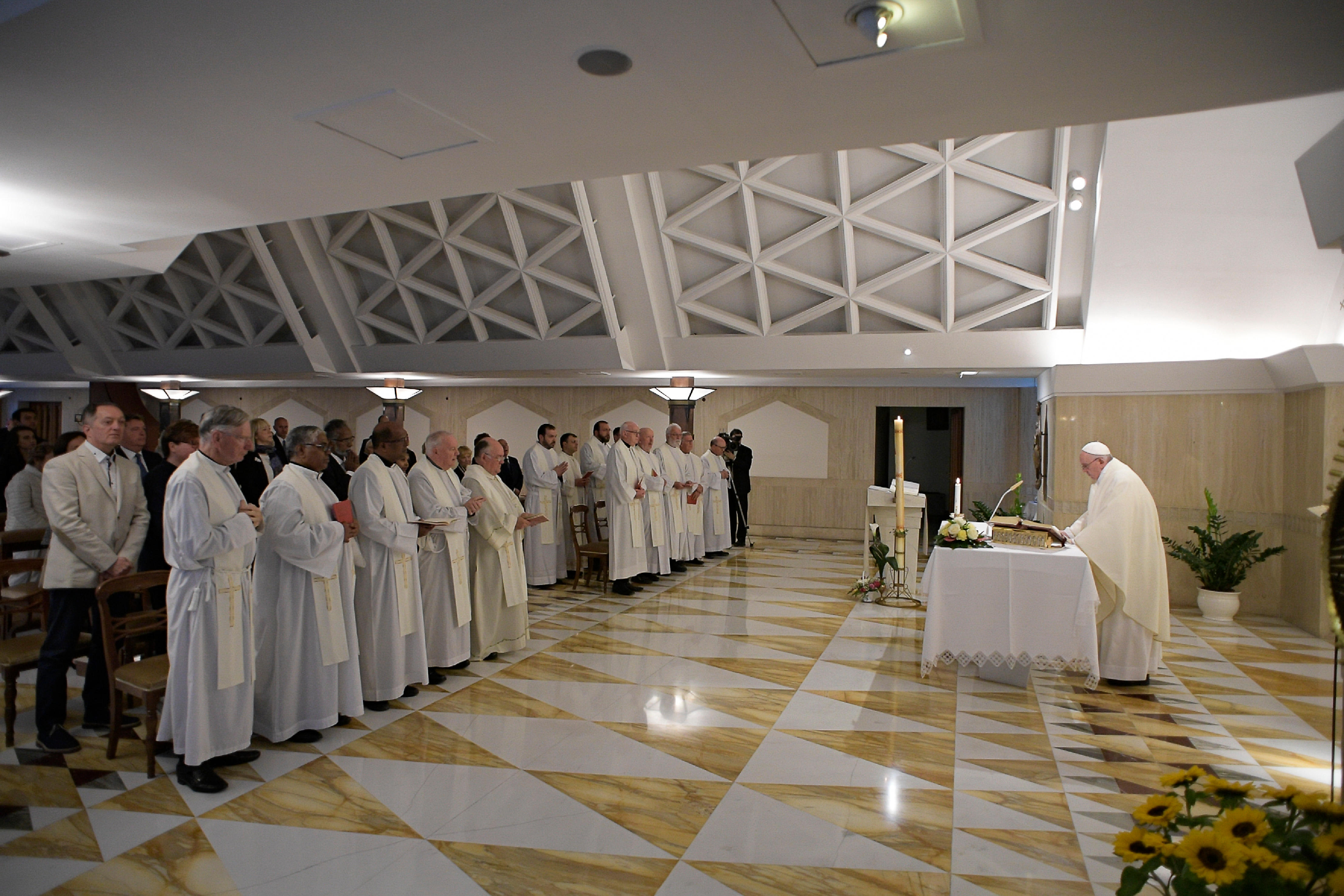 Messe à Sainte-Marthe, 29 avril 2019 © Vatican Media