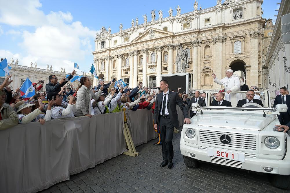 Audience du 29 mai 2019 © Vatican Media