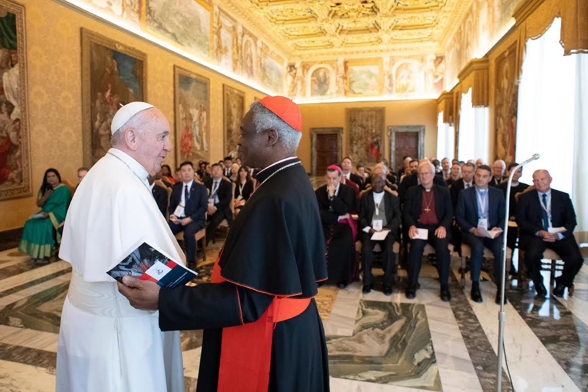 Card. Turkson, 3 mai 2019 © Vatican Media