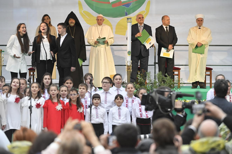 Rencontre des religions pour la paix Sofia (Bulgarie), 6 mai 2019 © Vatican Media