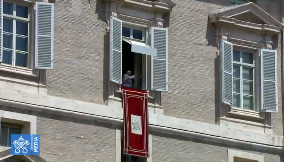 Regina Caeli du 12 mai 2019, capture Vatican Media