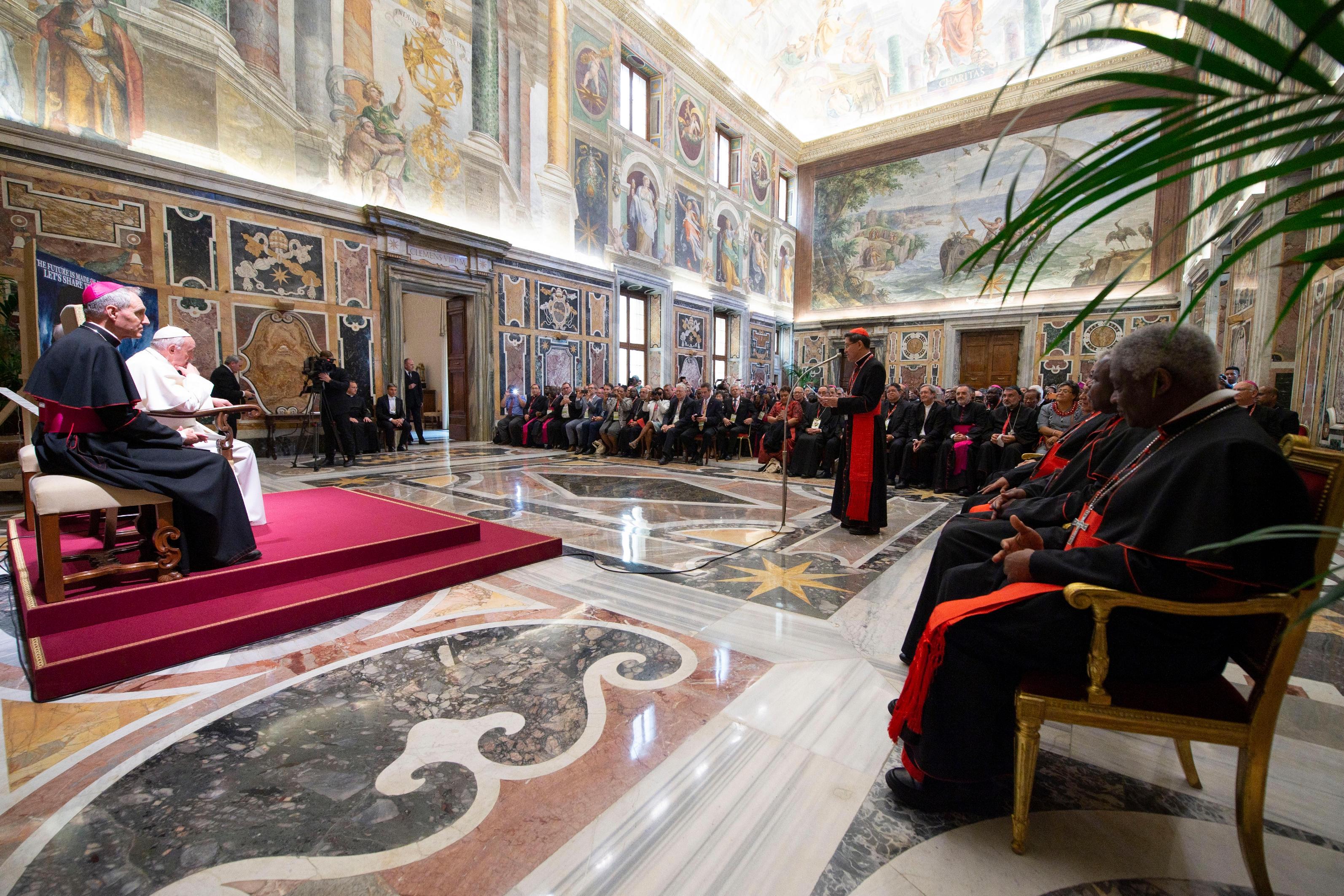 Assemblée de Caritas Internationalis © Vatican Media