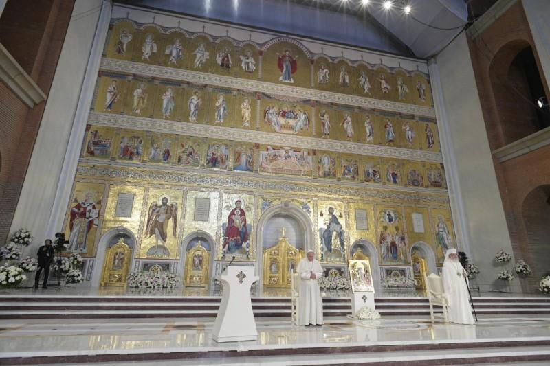 Iconostase, cathédrale de Bucarest, Roumanie © Vatican Media