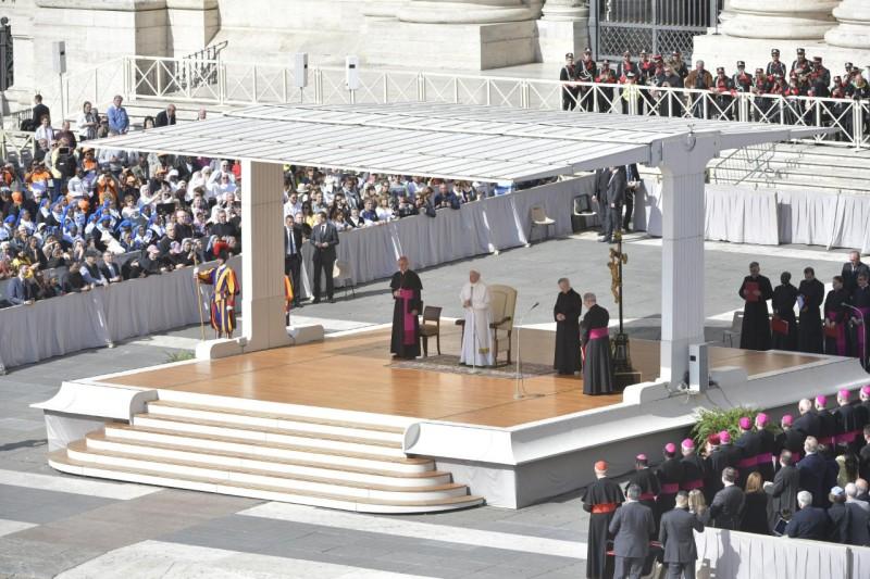 Audience générale du 8 mai 2019 © Vatican Media