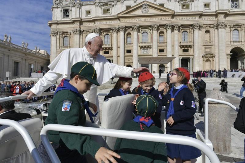 Audience 1er mai 2019 © Vatican Media