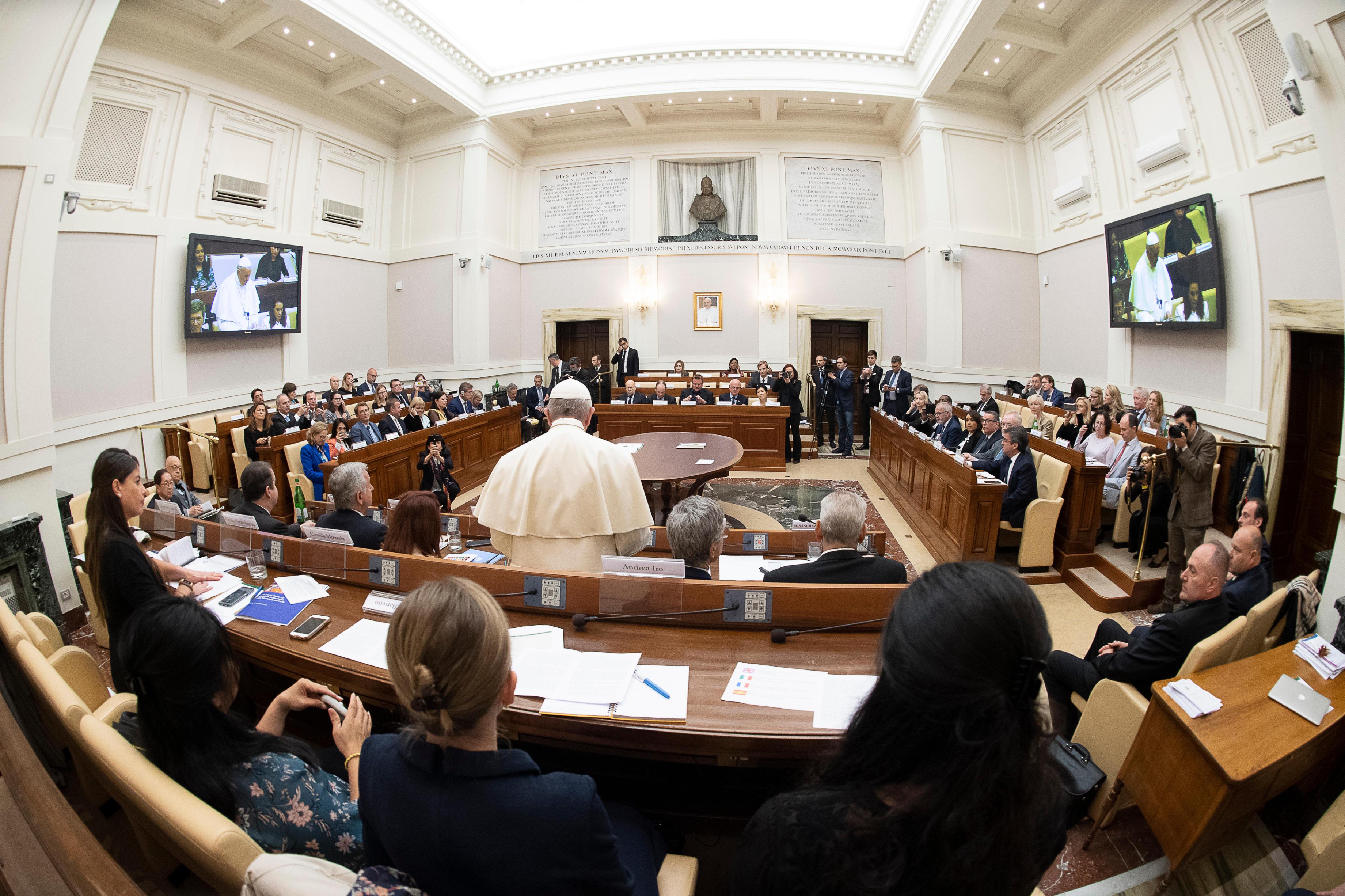 Académie des sciences sociales © Vatican Media