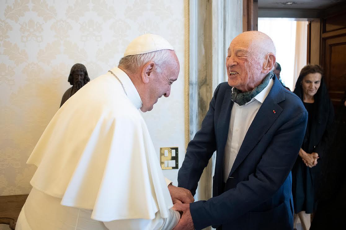 Prof. Edgar Morin © Vatican Media