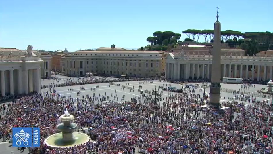 Angélus du 30 juin 2019, capture Vatican Media