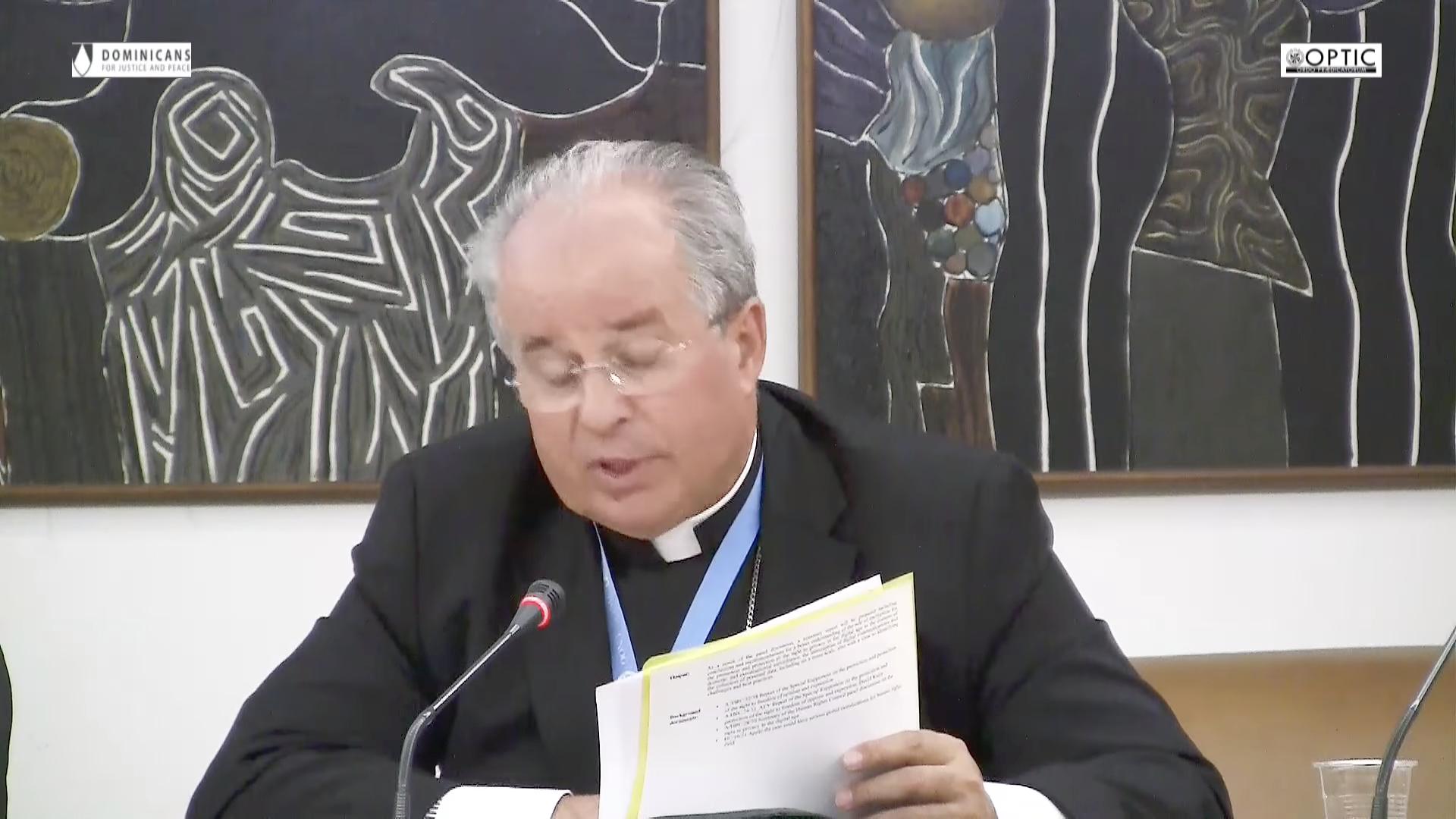 Mgr Ivan Jurkovic @YouTube/OPTIC