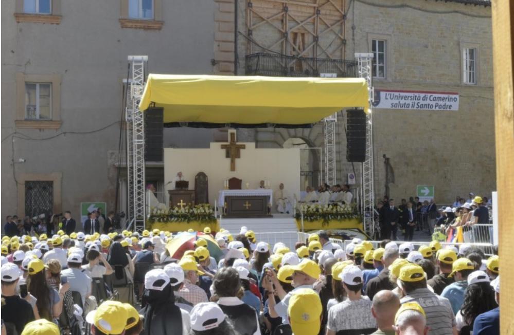 Messe à Camerino, 16 juin 2019 © Vatican Media