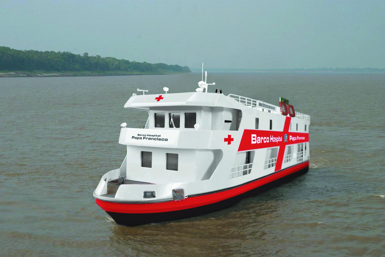 """Amazonie, le bateau hôpital """"Pape François"""" @ Fides.org"""