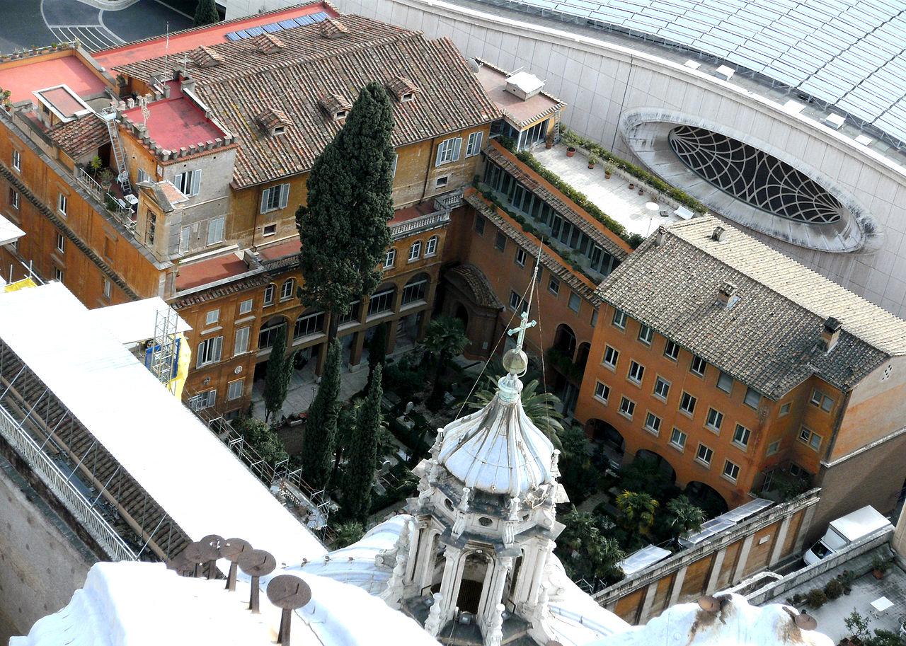 Cimetière teutonique du Vatican @ wikimedia commons Q'Alex QS - Mach mit!