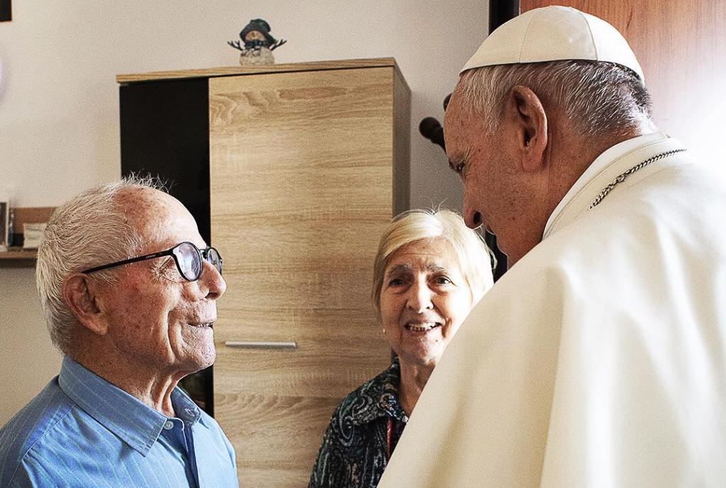 Grands-parents © Instagram / Vatican Media
