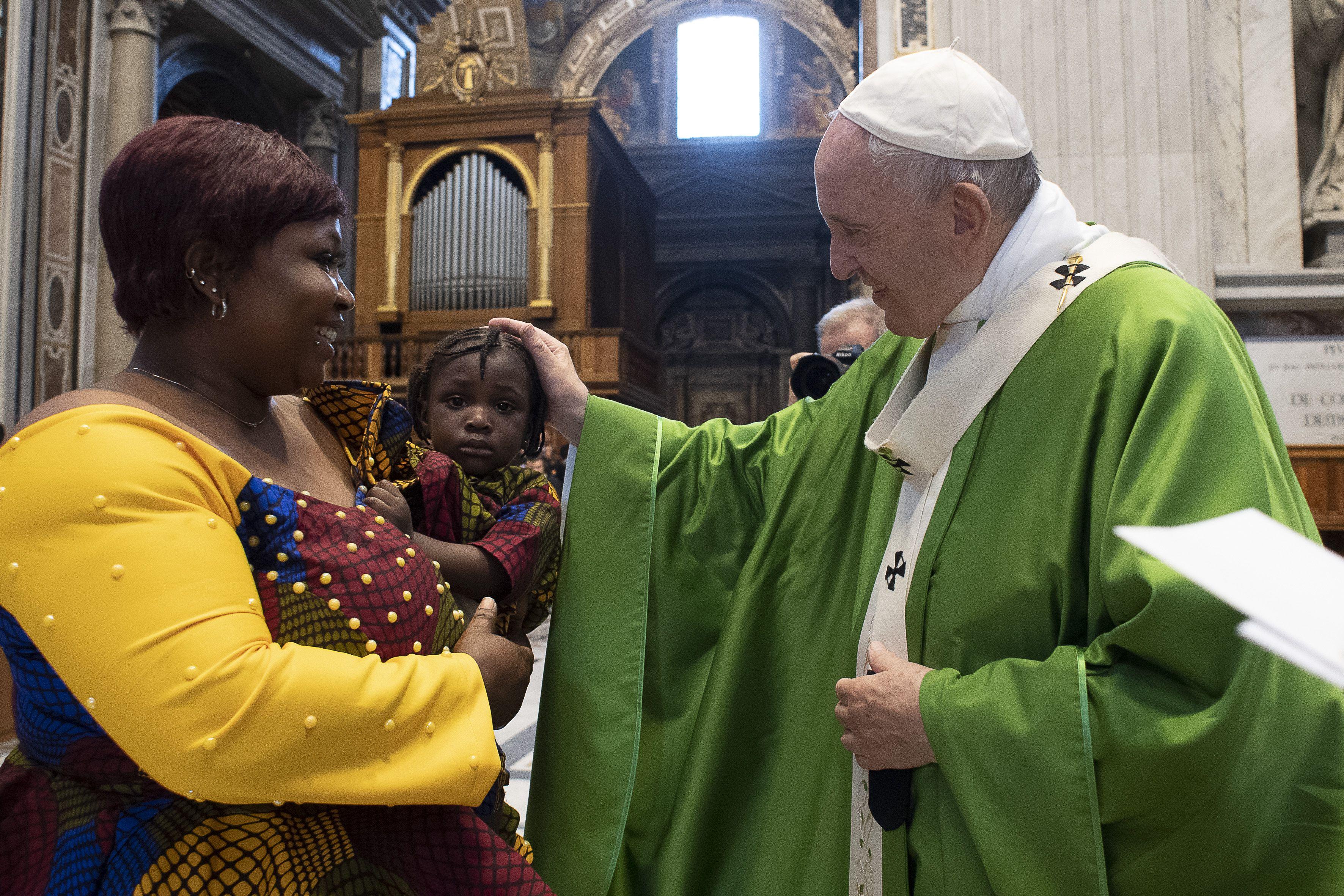 Messe pour les migrants © Vatican Media