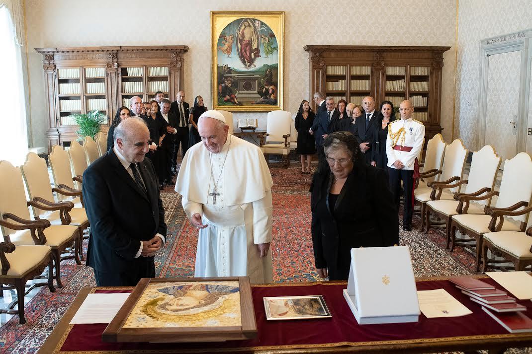 Malte: le pape François a reçu le président George Vella