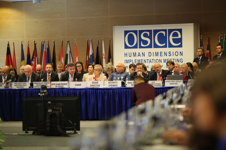 OSCE, Varsovie 2019 © OSCE
