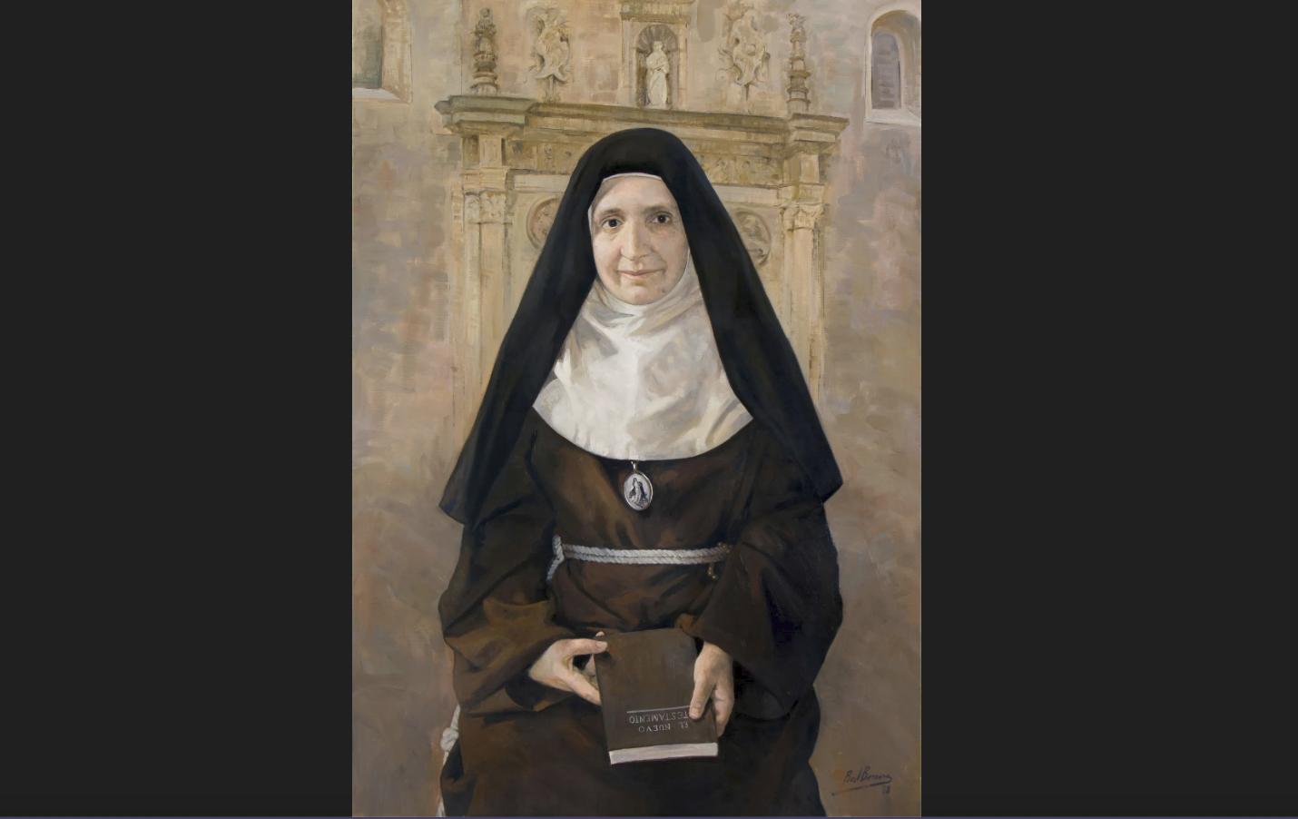 Francisca del Niño Jesus, capture @ ofm.org