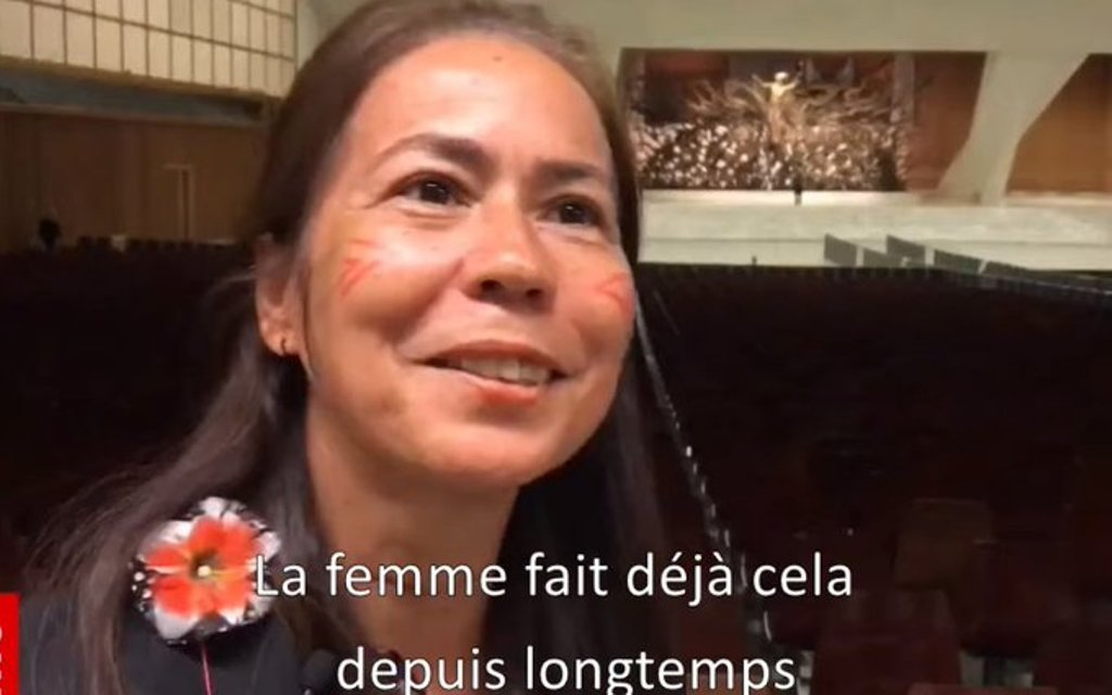 Soeur Laura V. Pereira Manso C.F., capture @Vatican YouTube
