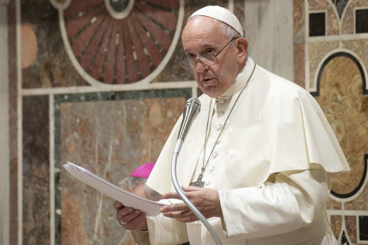 Association internationale de droit pénal, 15 nov. 2019 © Vatican Media