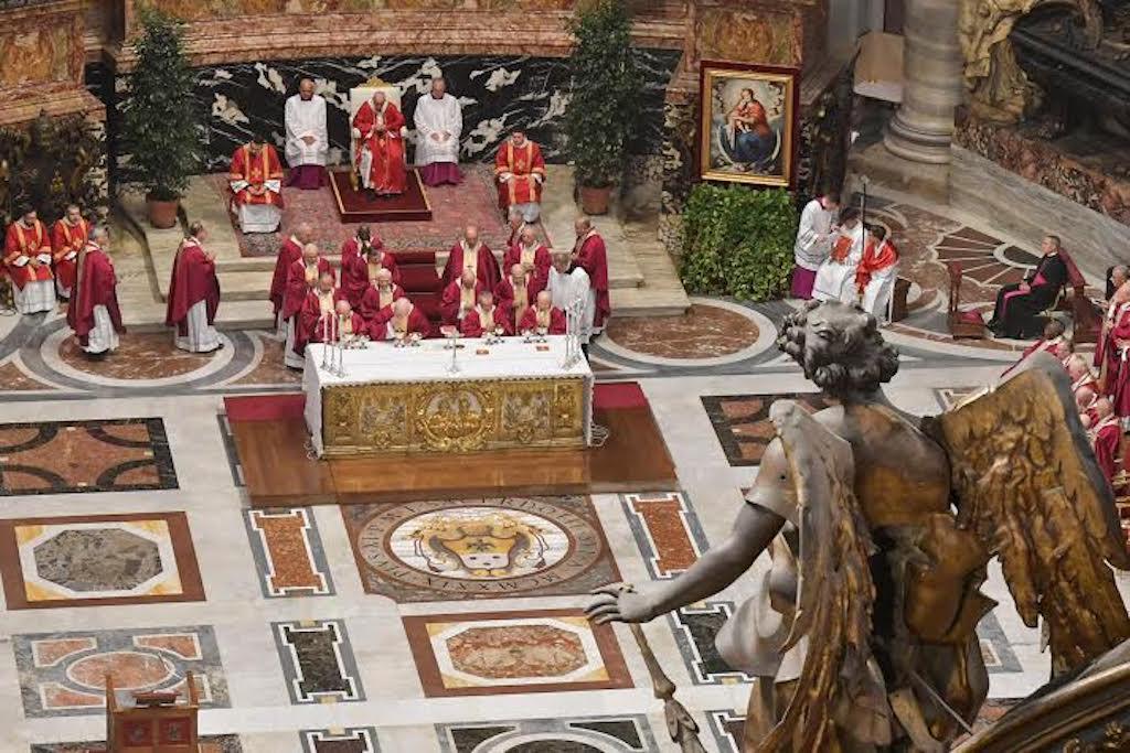 Messe pour les cardinaux et évêques défunts © Vatican Media