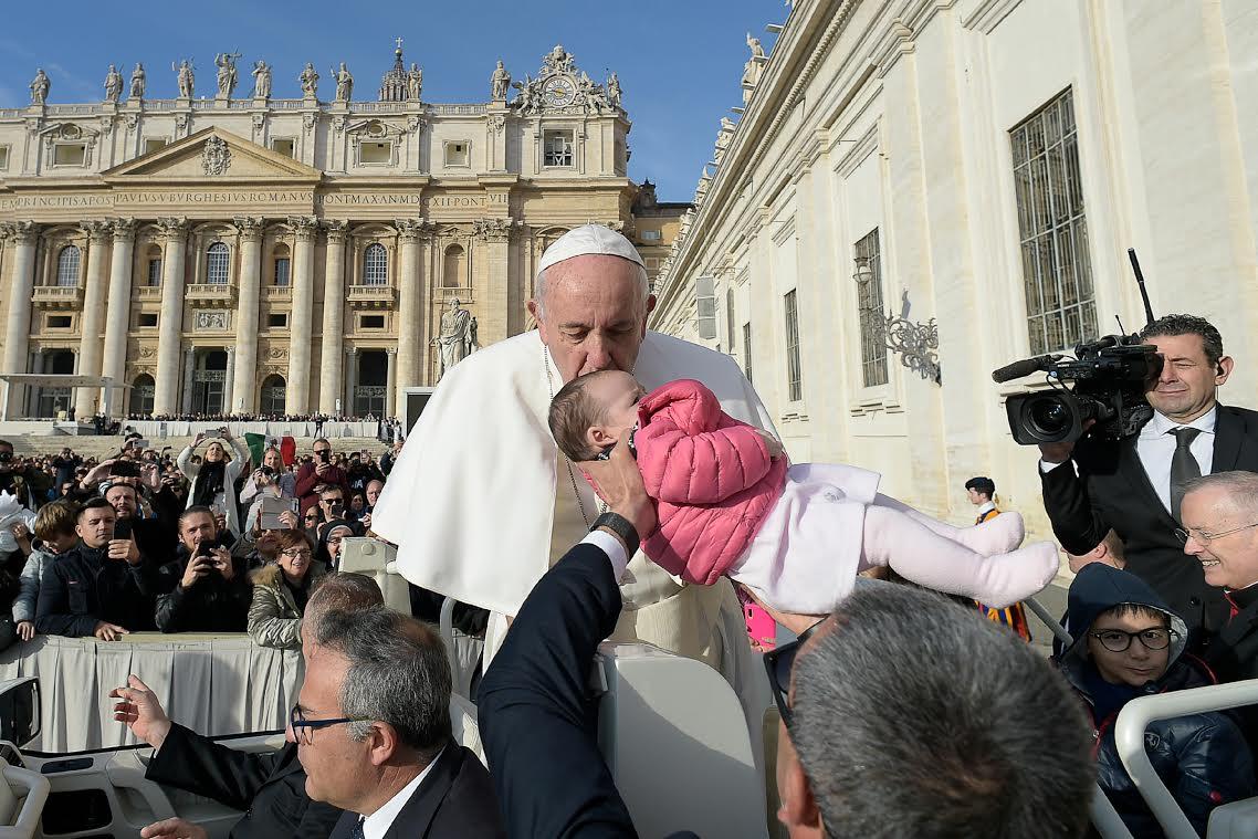 Audience du 27 nov. 2019 © Vatican Media