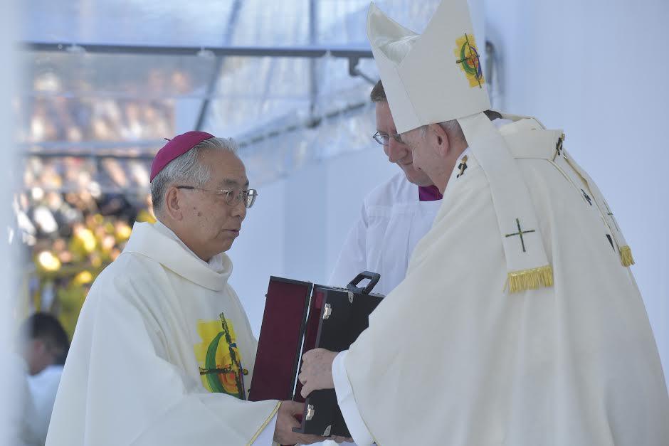 Messe à Nagasaki, Japon © Vatican Media