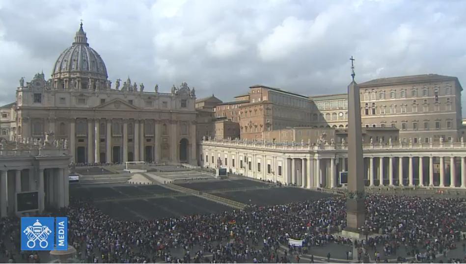 Angélus du 3 novembre 2019, capture Vatican Media