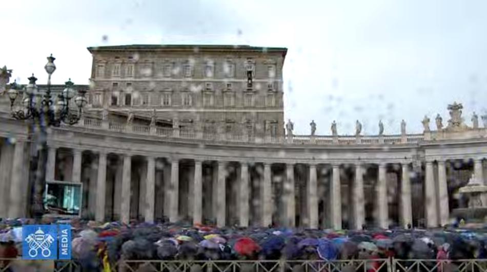 Angélus du 17 novembre 2019, capture Vatican Media