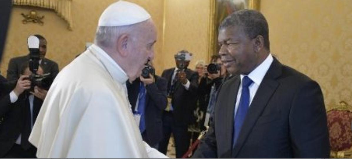 Président de l'Angola, João Manuel Gonçalves Lourenço © Vatican Media