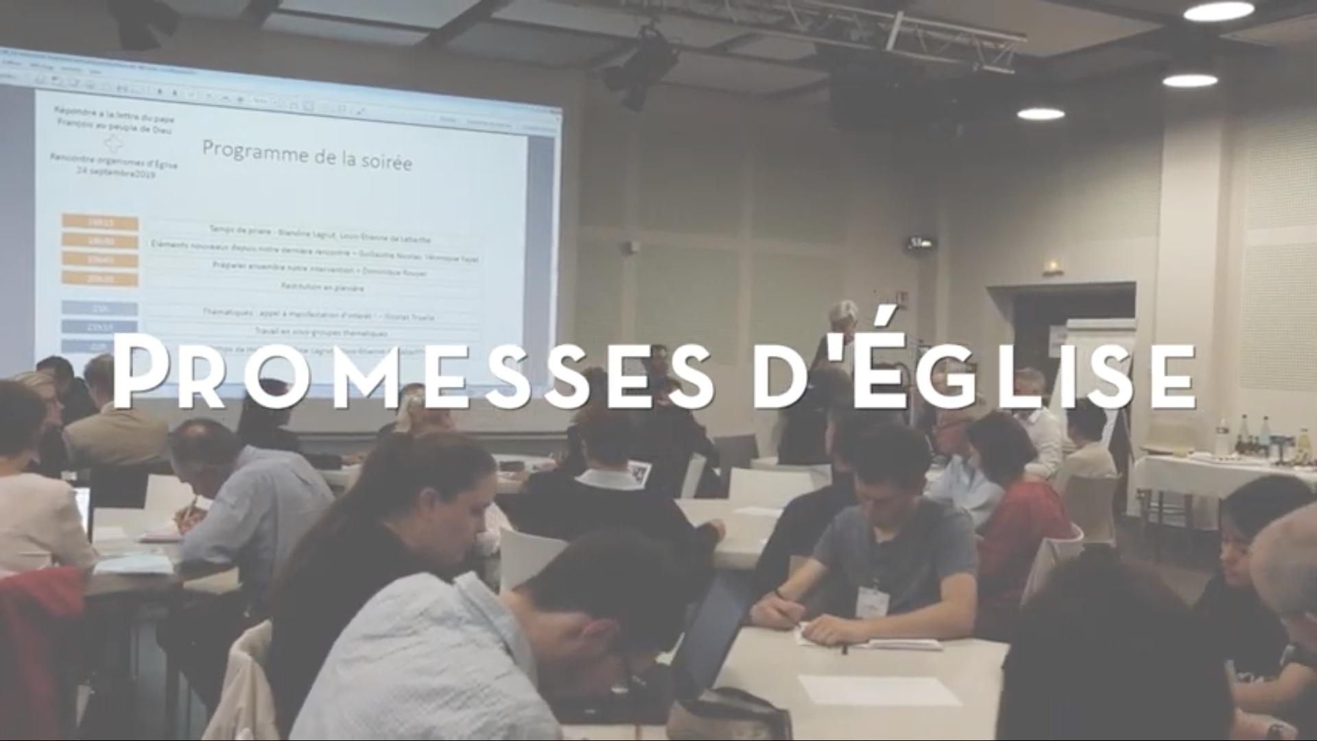 """Promesses d'Eglise"", capture YouTube"