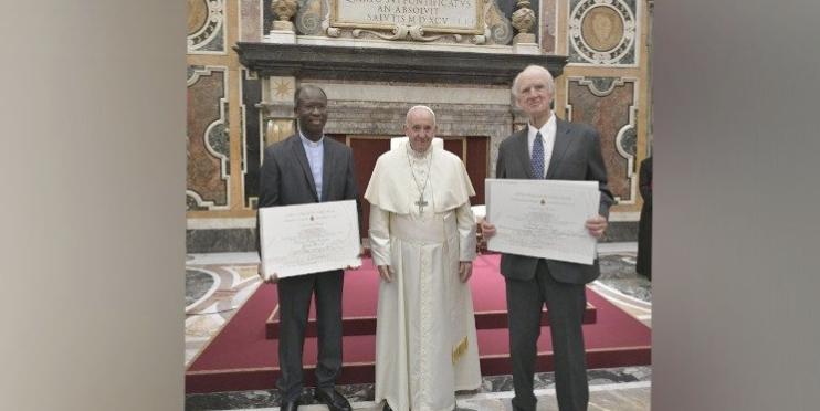 Lauréats Prix Ratzinger 2019, capture @ Vatican News