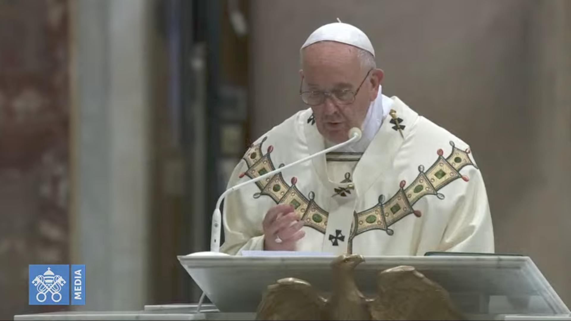 Dédicace de la basilique du Latran, capture @ Vatican Media