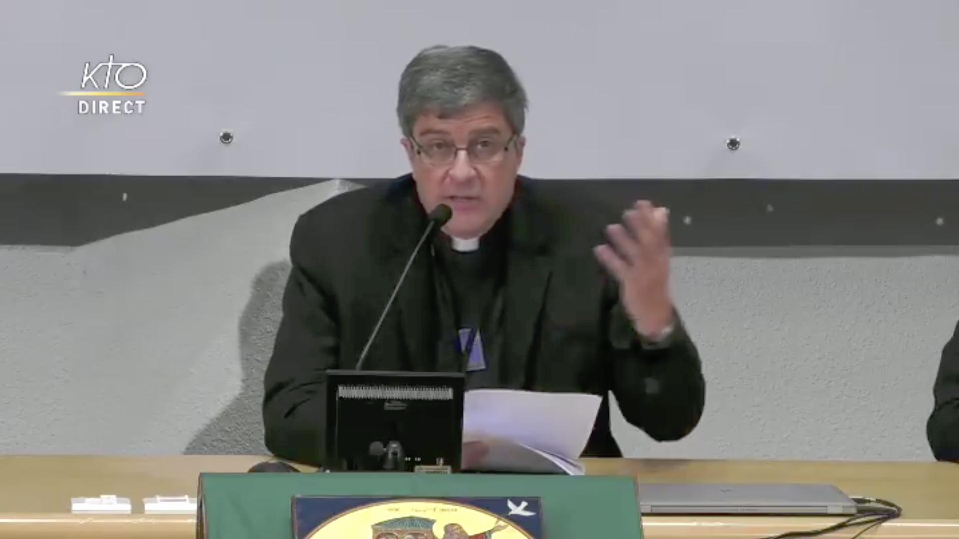 France: discours de Mgr Eric de Moulins-Beaufort