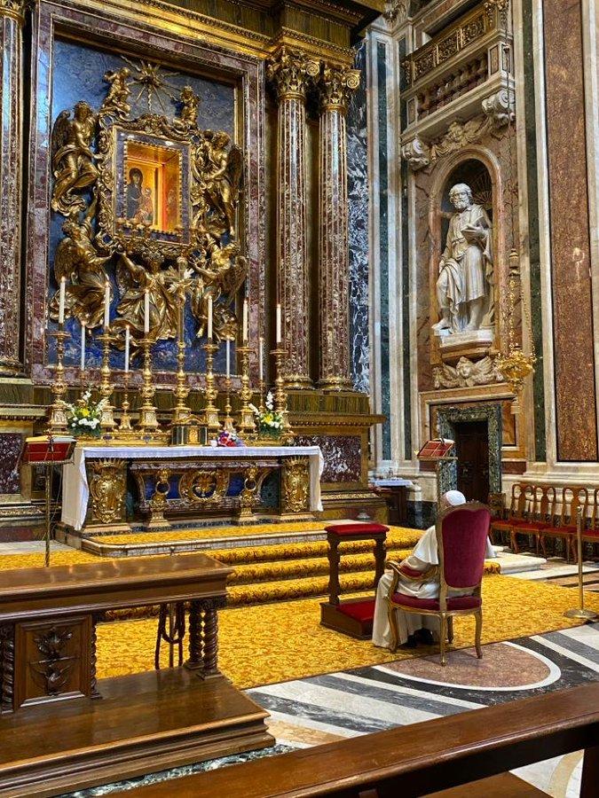 A Sainte-Marie-Majeure, copyright @HolySeePress