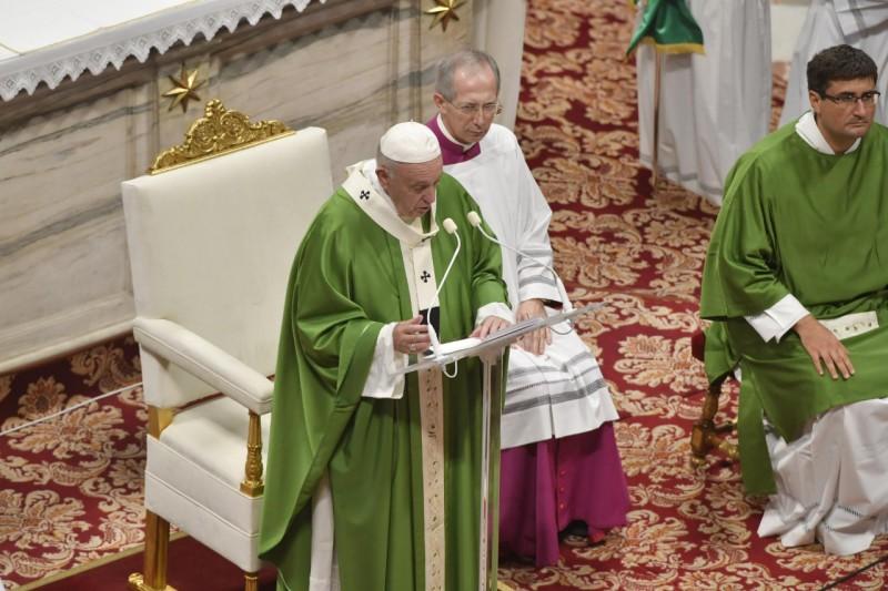 Messe pour la IIIe Journée mondiale des pauvres, 17 novembre 2019 © Vatican Media