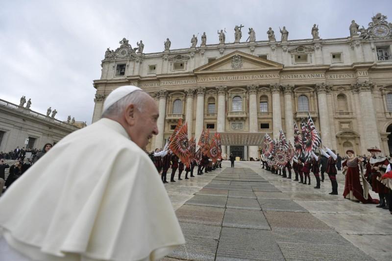 Audience générale du 13 novembre 2019 © Vatican Media