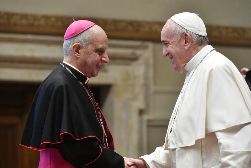 Mgr Fisichella, Nouvelle évangélisation © Vatican Media