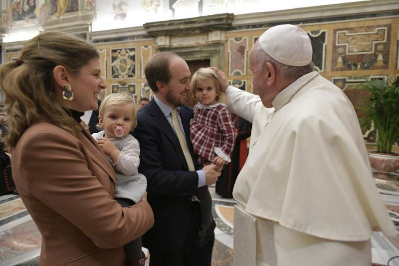Dicastère pour les laïcs, la famille et la vie, 16 nov 2019 © Vatican Media