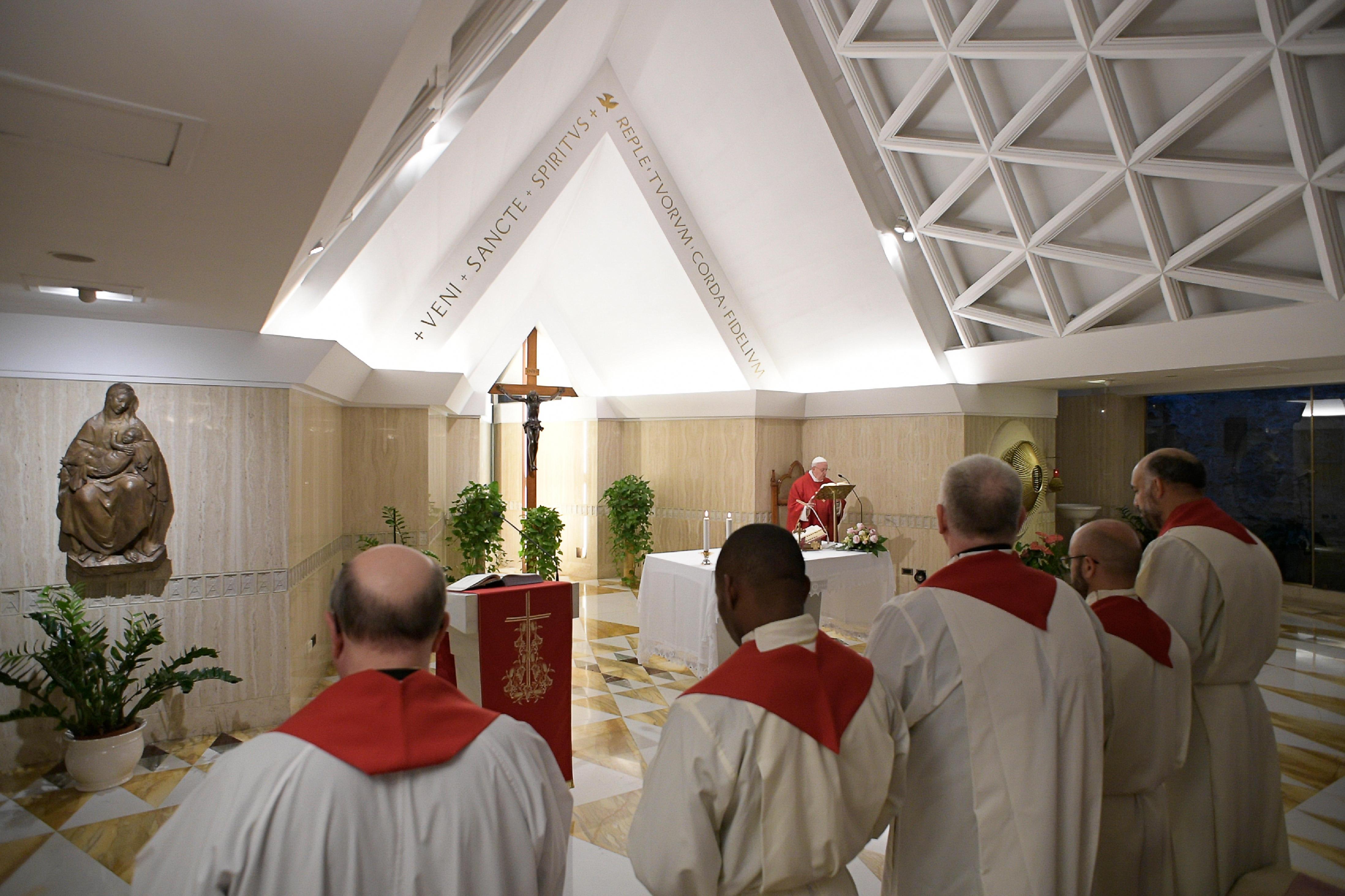 Messe à Sainte-Marthe, 12 novembre 2019 © Vatican Media