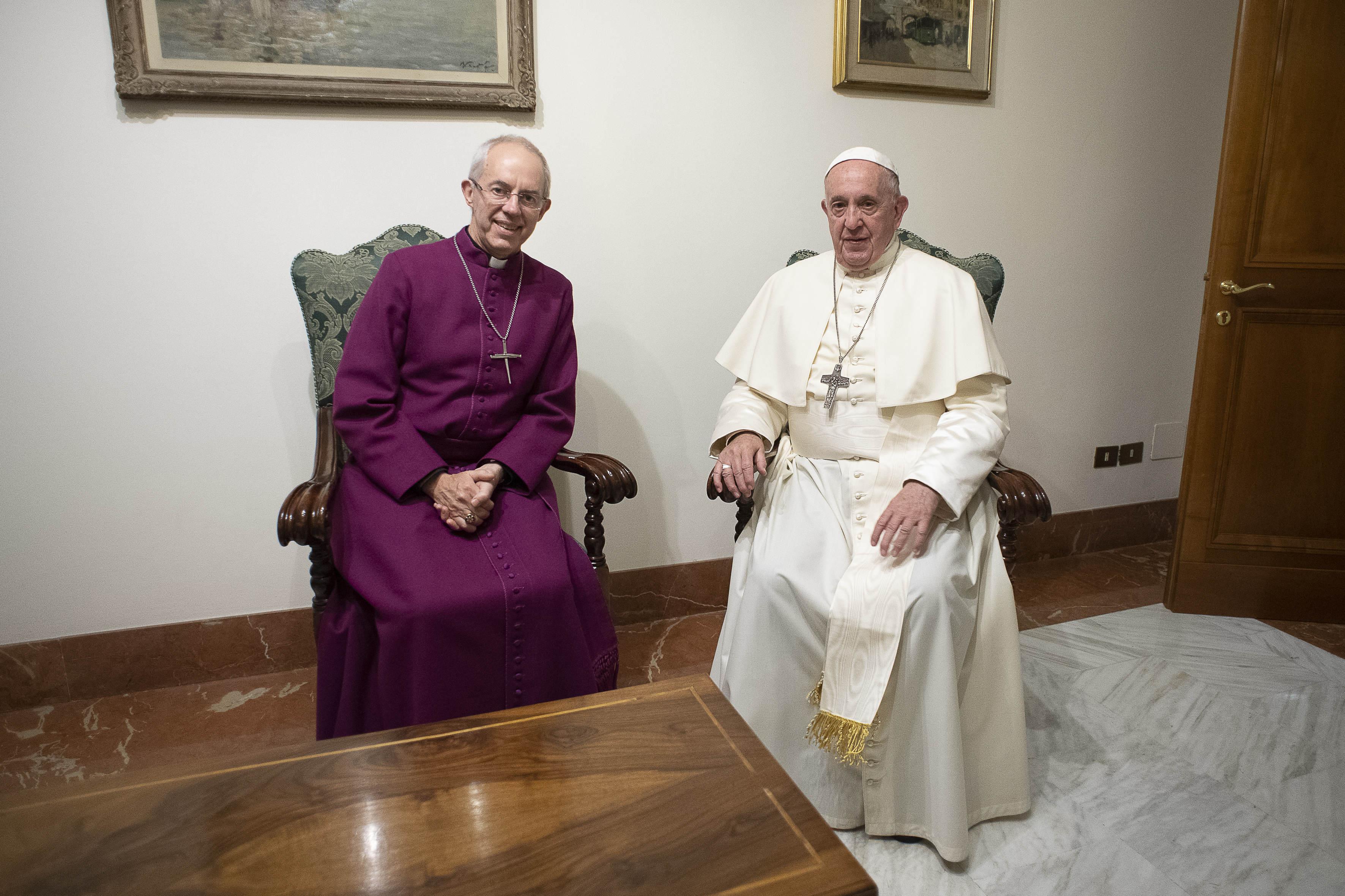 Visite de Justin Welby, 13 novembre 2019 © Vatican Media