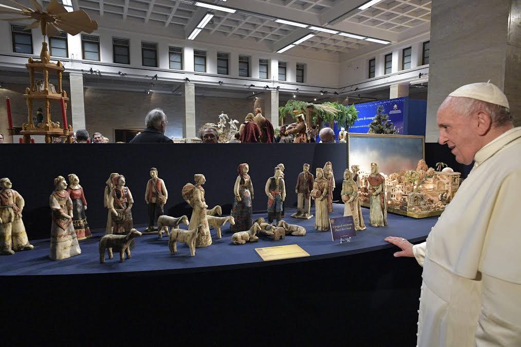 Exposition des 100 Crèches de Noël 2019 © Vatican Media