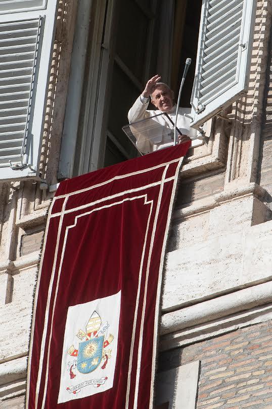 Angélus du 15 déc. 2019 © Vatican Media