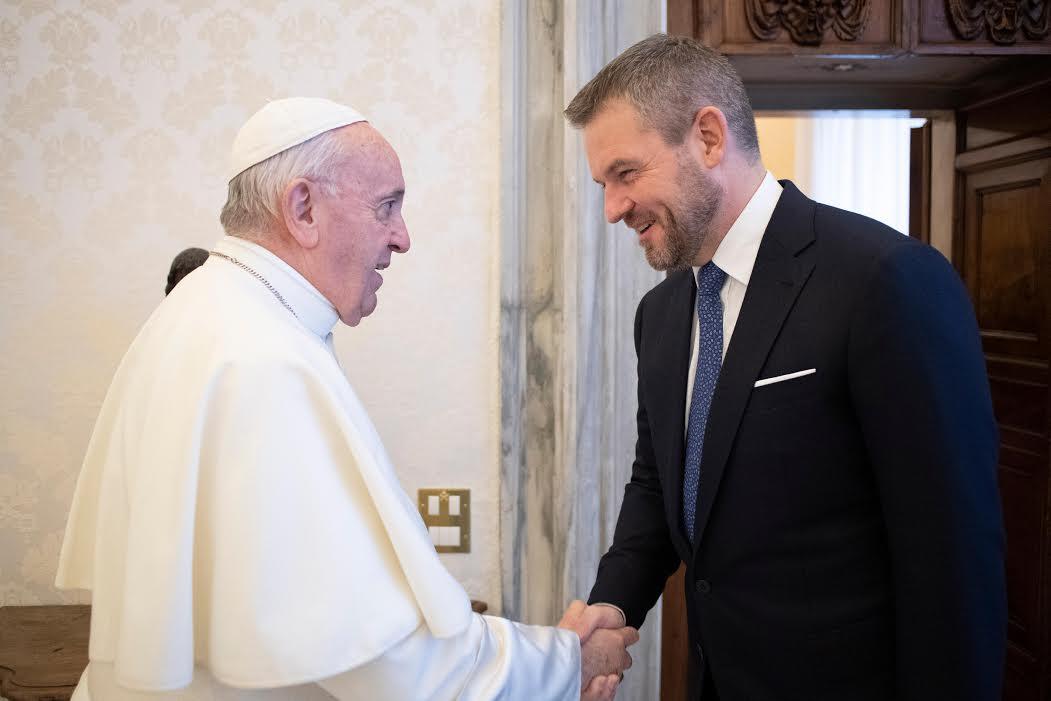 M. Peter Pellegrini, Premier ministre de Slovaquie © Vatican Media