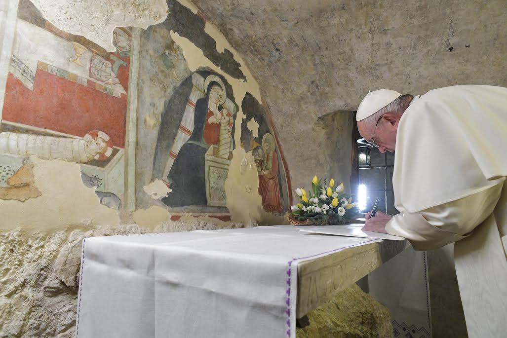 Greccio © Vatican Media