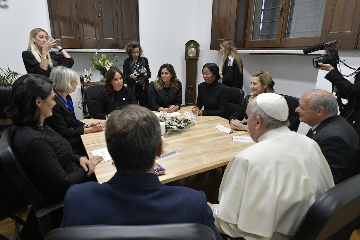 Inauguration du siège international, Scholas Occurrentes © Vatican Media